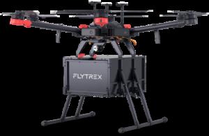 flytrex drone walmart consegna