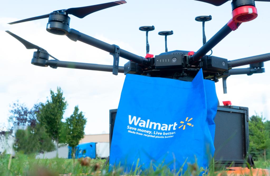 Consegna con i droni: Walmart e Tesco lanciano progetti pilota