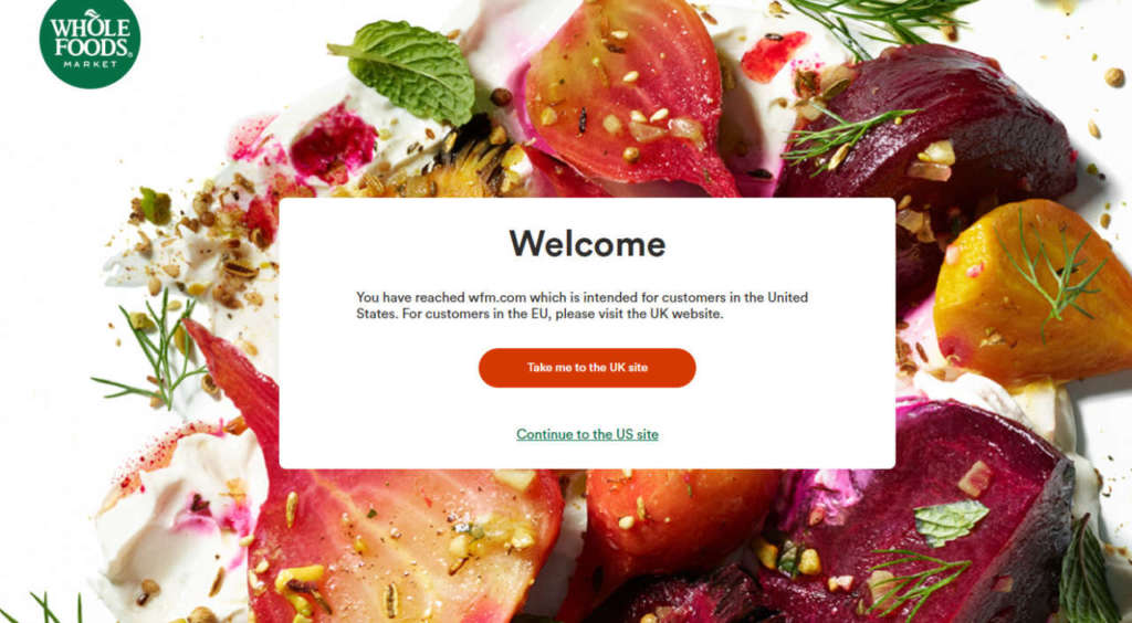Amazon: uno store Whole Foods Market esclusivamente online