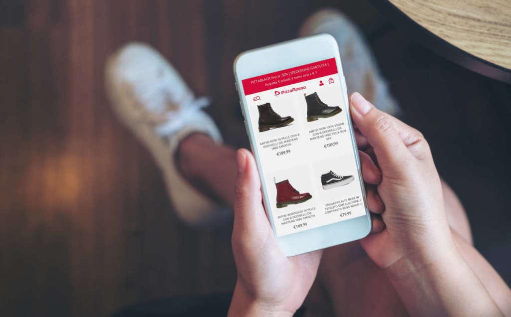 Pittarosso punta sull'omnicanalità con la piattaforma Shopify