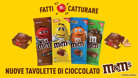 M&M's tavolette cioccolato