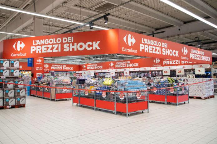 angolo prezzi shock carrefour italia