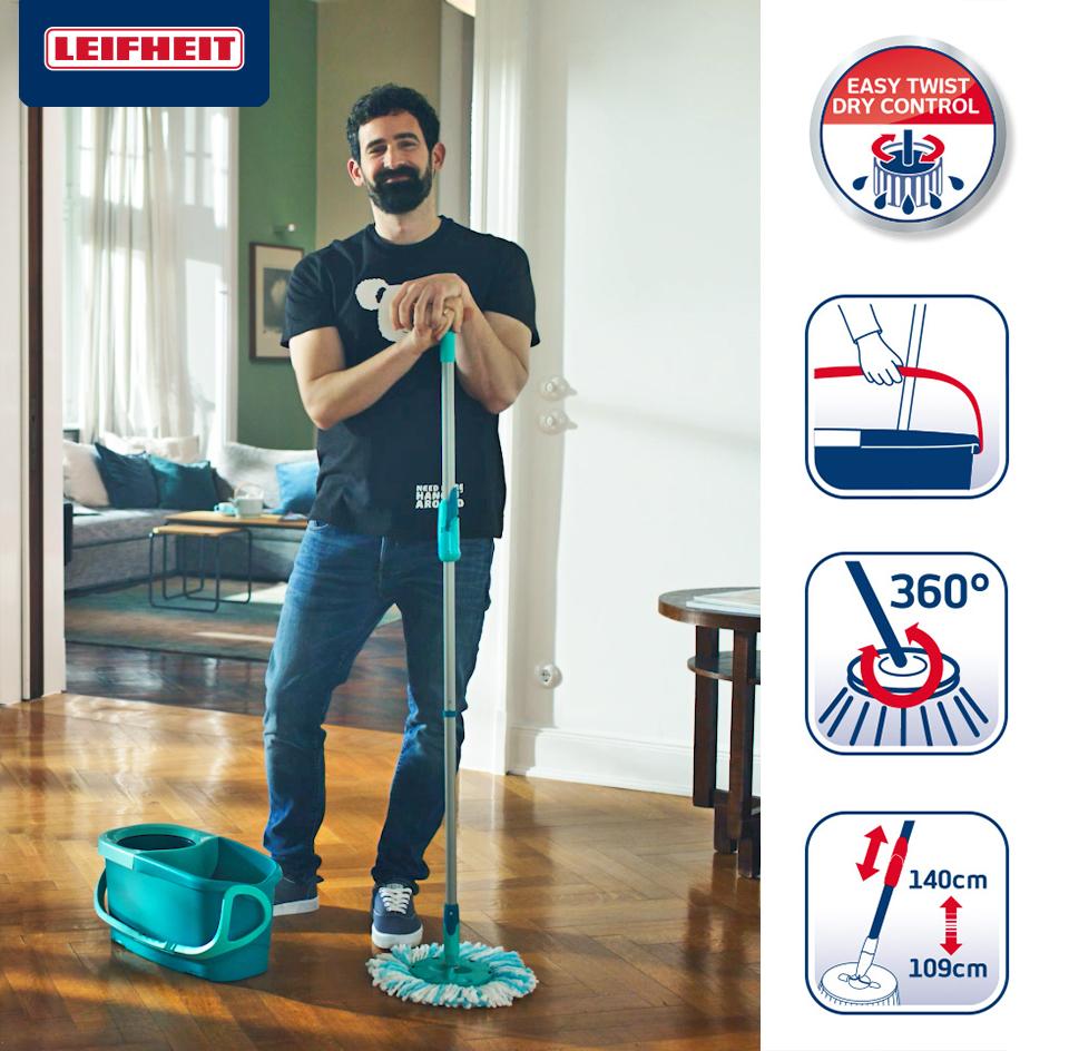 Leifheit Clean Twist Disc Mop Ergo