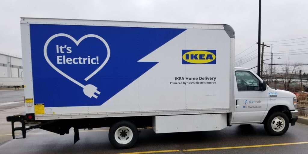 Ikea pronta per le consegne a zero emissioni negli Usa
