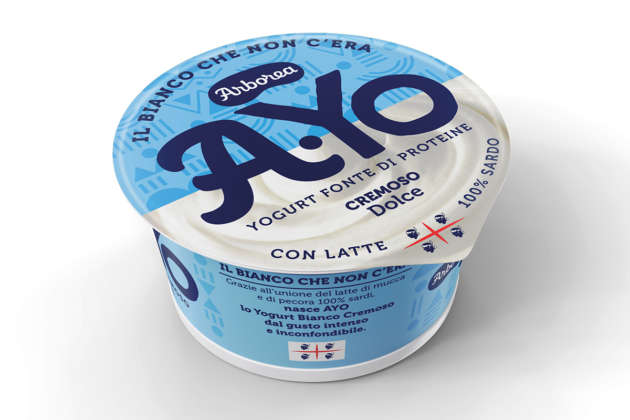 Arborea yogurt bianco AYo dolce con miele