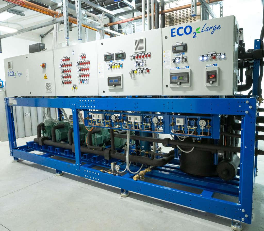Life C4R Epta - Eco2 presso superstore Oasi del Gruppo Gabrielli