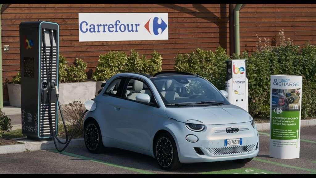 I vantaggi della collaborazione tra Carrefour, Fiat e Be Charge