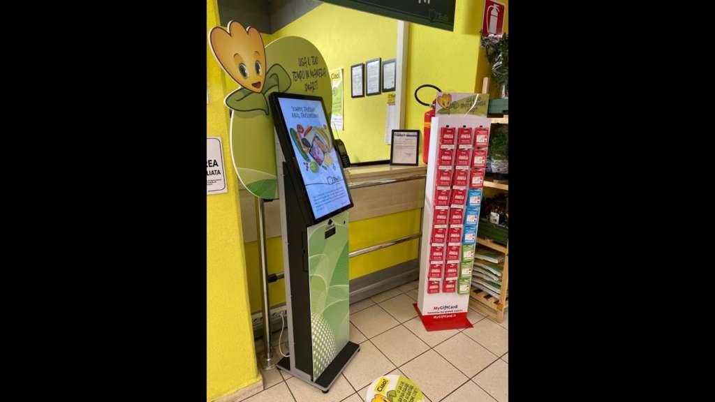 Il totem per i pagamenti, un passo nella trasformazione digitale di Todis