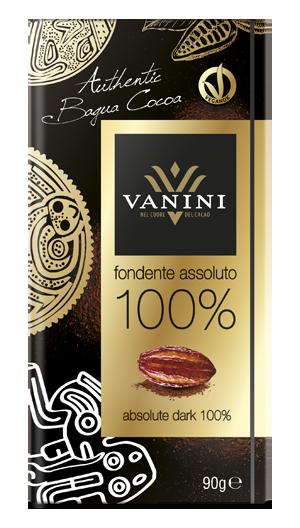 Vanini cacao Bagua 100%