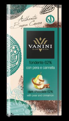 Vanini Bagua 62% pera cannella