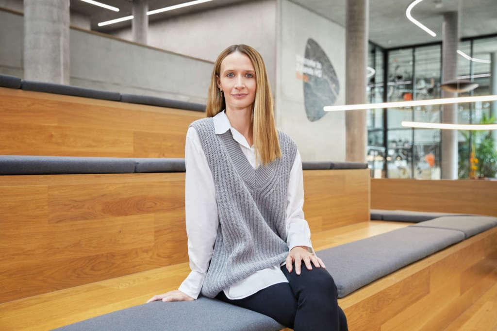 Lara Coppen, responsabile della circolarità di Zalando